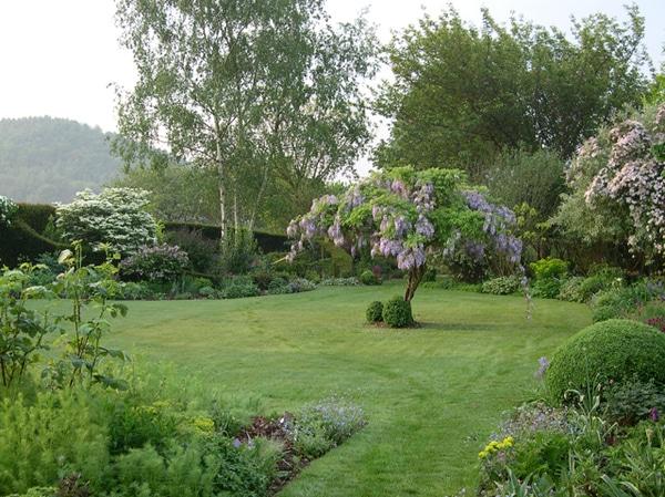 L'aménagement d'un jardin