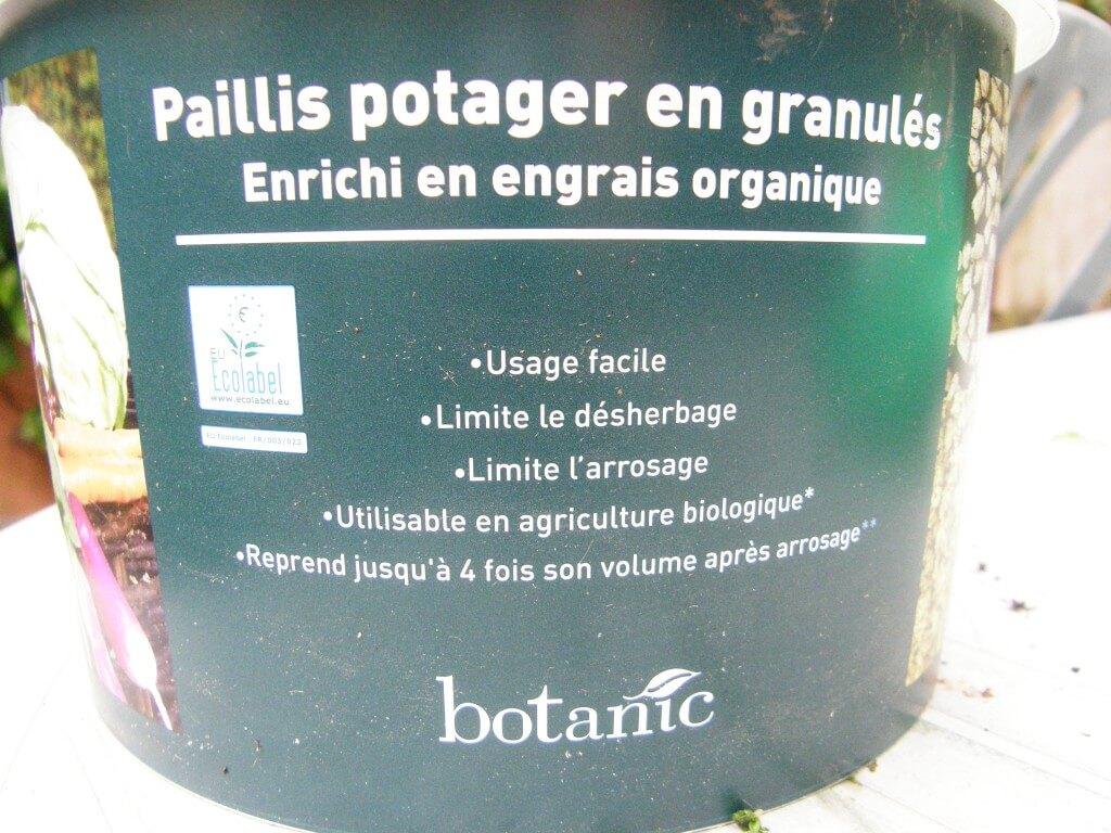 paillis fertilisé Botanic