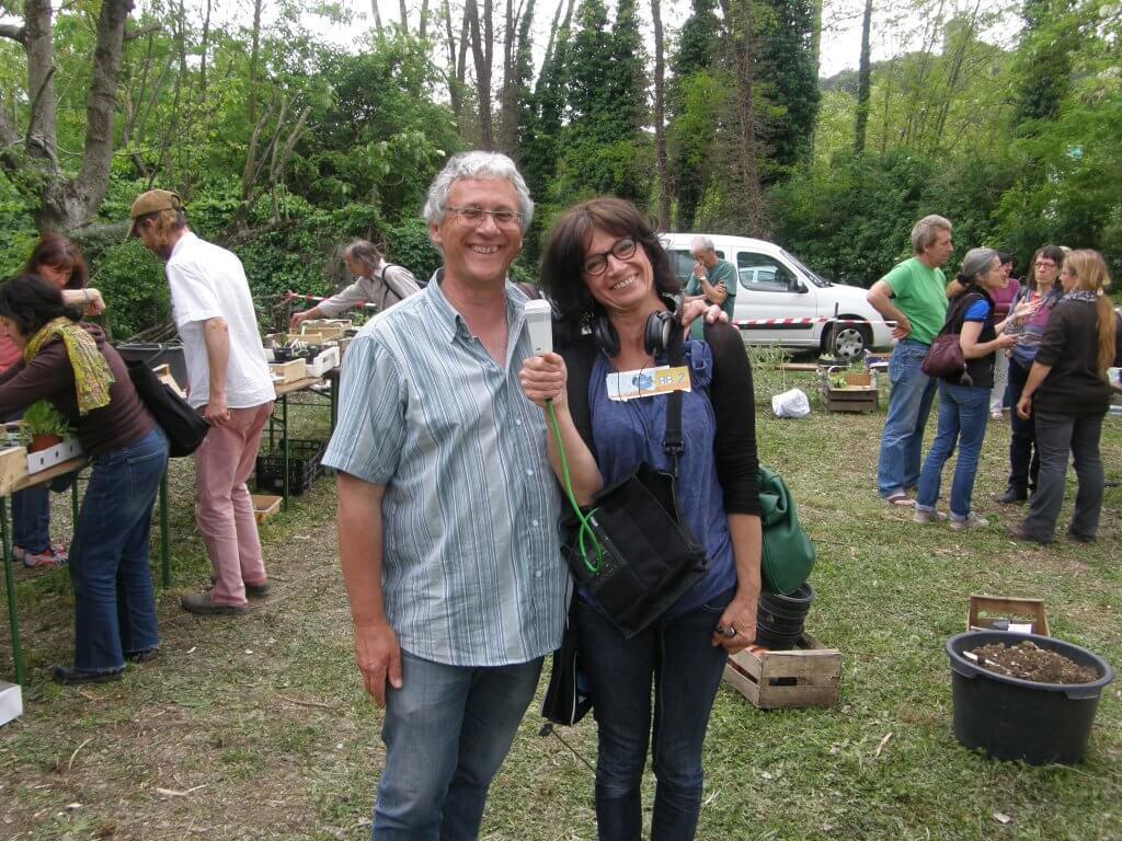 Le Lys et la Reinette, émission jardin sur Radio Grille Ouverte, avec Aline et Daniel