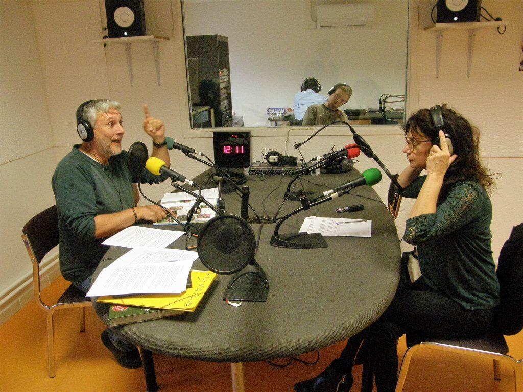 Aline et Daniel, Le lys et la Reinette, sur Radio Grille Ouverte